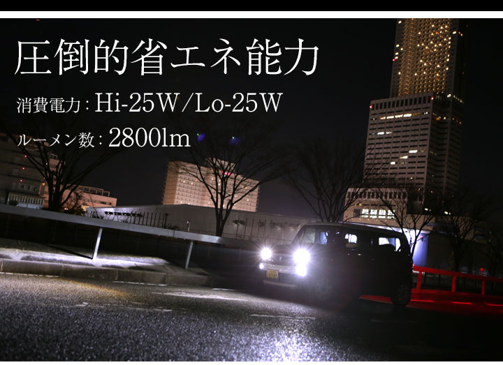H4 LEDヘッドライト
