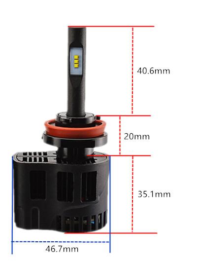 H8 H11 H16 LEDヘッドライト