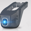 Wi-Fi搭載 高画質フルHD ミラー取付型ドライブレコーダー