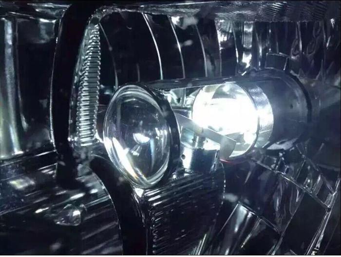 H4ヘッドライト 一体式 ミニプロジェクター