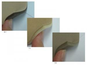 スポンジ・ウレタンクッションの厚み参照