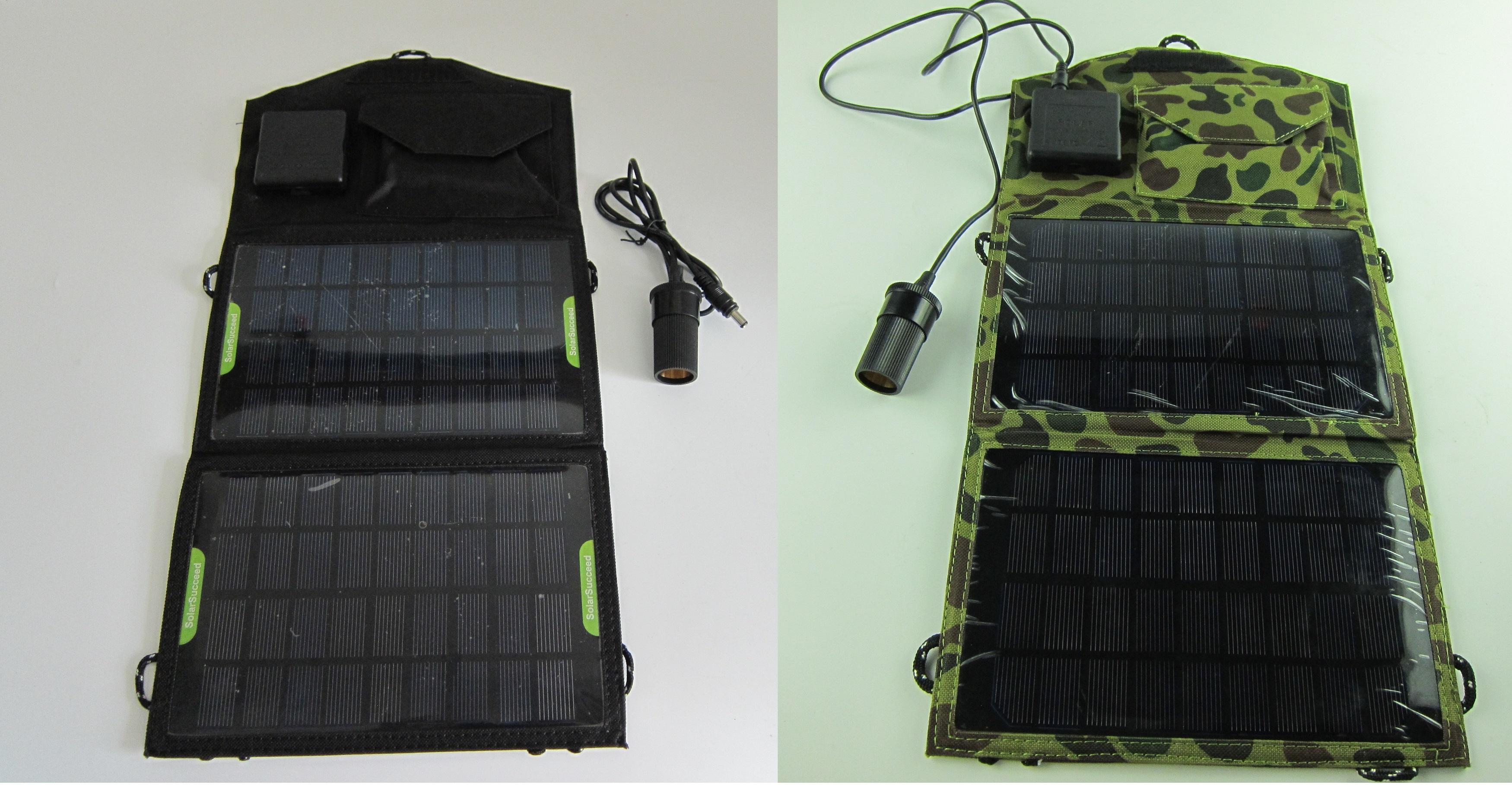 折りたたみ型ソーラーパネル充電器 ソーラー発電車載充電器
