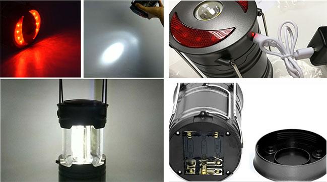 コンパクト 3way用 360°高発光 LED ランタンーー3way用