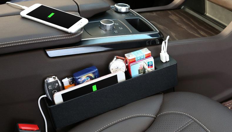 シートすき間ホルダー 隙間収納箱 シートサイド収納ポケット