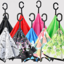 逆さ傘 二重傘 晴雨兼用 さかさま傘