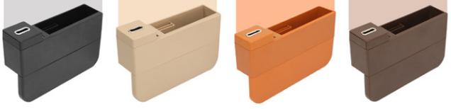 シートすき間ホルダー 隙間収納箱 シートサイド収納ポケットーー4色
