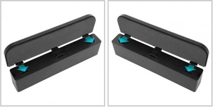 シートすき間ホルダー 隙間収納箱 シートサイド収納ポケットーー左右使える